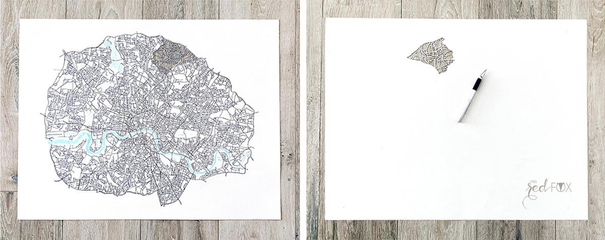 missredfox - London Papercut XXL 02