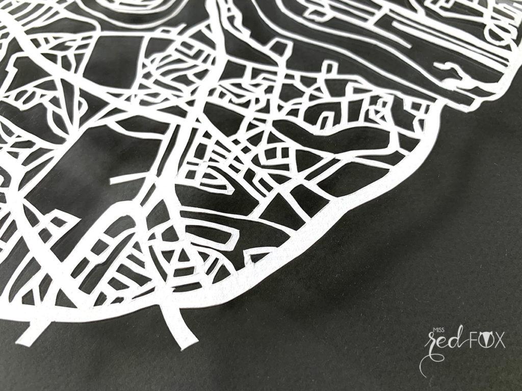 missredfox - London Papercut XXL 09