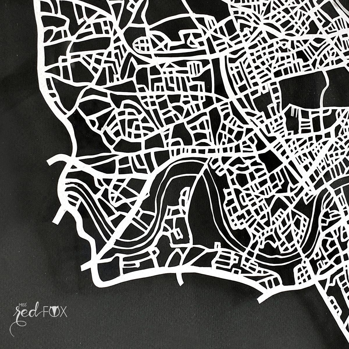 missredfox - London Papercut XXL 07