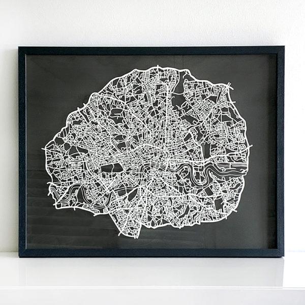 missredfox - London Papercut XXL