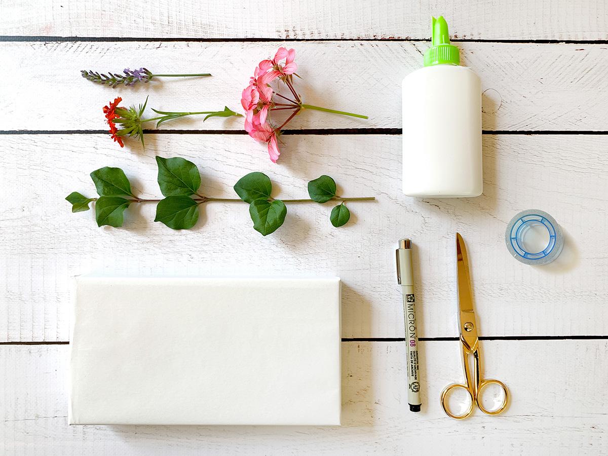 missredfox - 12giftswithlove - Blumen - Geschenkverpackung 2