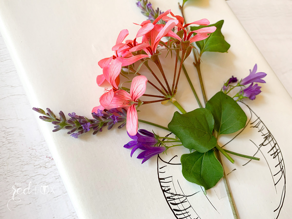 missredfox - 12giftswithlove - Blumen - Geschenkverpackung 8