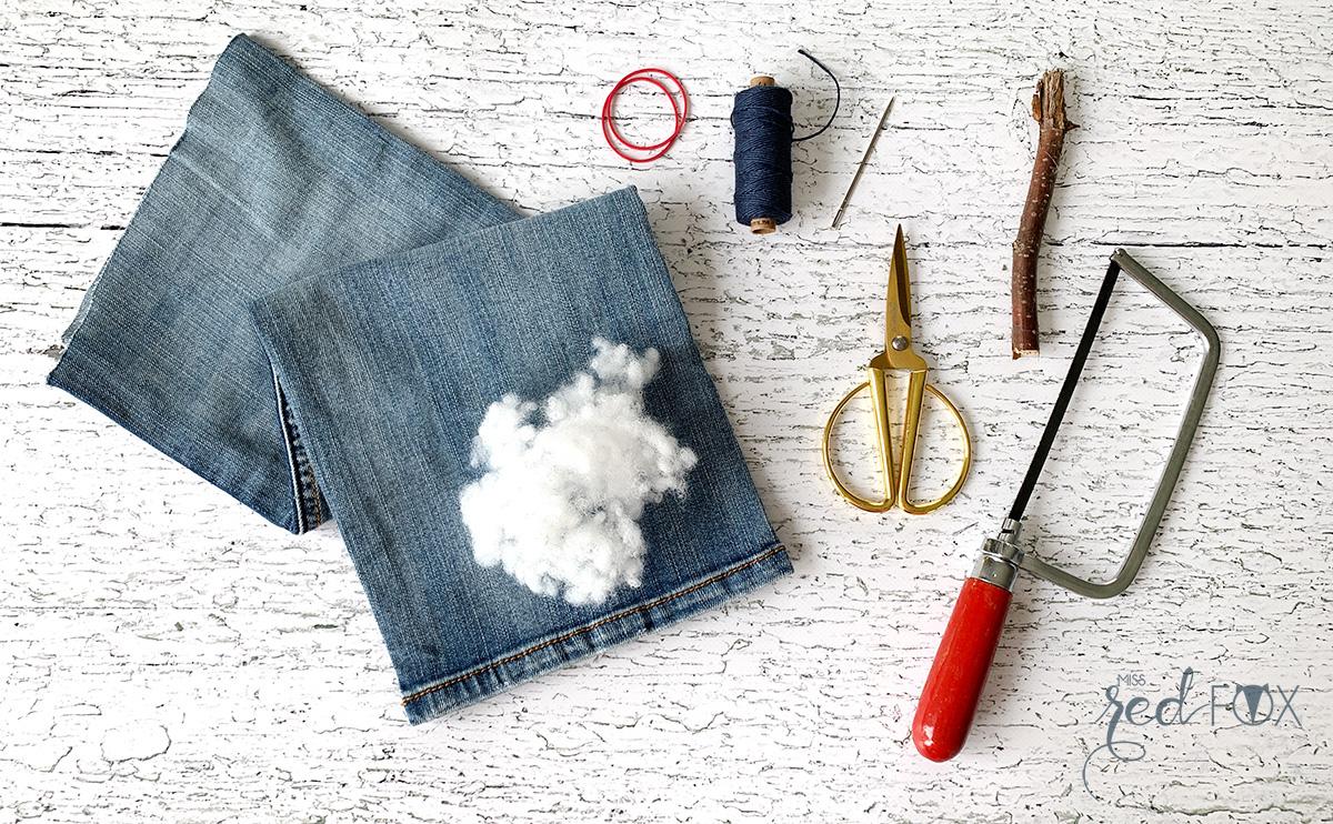 missredfox - Upcycling DIY Jeans Kürbisse - 03